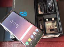 Samsung Galaxy S8 with box and all original accessories.