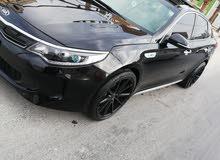 Black Kia Optima 2018 for sale