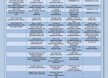 دروس تقوية ودورات لطلاب الجامعات وطلاب التوجيهي
