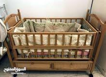 سرير اطفال شبه جديد نوعية ممتازة