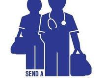 ممرض ذو خبرة واسعه جاهز لتقديم خدمات التمريض والعناية الطبية الطارئة في المنازل