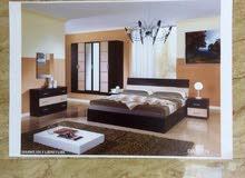 غرف نوم إيطالية اسمها ( دارين ) قهوي ف البيج. H