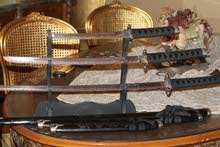 Original Samurai swords - سيف سامورى (3) قطع مقاسات مختلفة