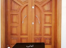 ورشة العالميه لتصنيع الأبواب الخشبية الديكورات