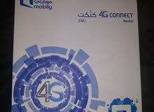 كنكت راوتر 4G يدعم شرائح موبايلي فقط