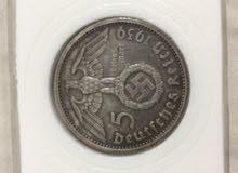 1939 عمله 5 رايخسمارك الألماني مع الصليب المعقوف