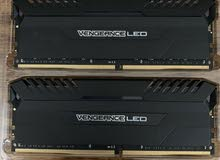 CORSAIR VENGEANCE LED 16GB (2x8GB) DDR4 2666MHz