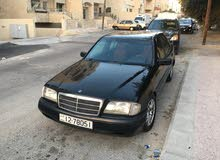 Mercedes Benz C 180 car for sale 1996 in Amman city