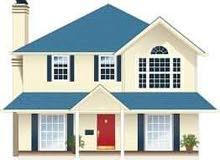 للبيع قطعه ارض تتكون من بيتين واجهيه 5 محلات