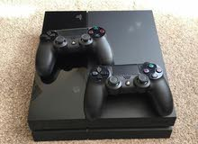 PS4 with 2 Controllers for Sale