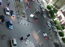 شقه للايجار باول شارع البحر بطنطا امام بنك مصر فيو مفتوح علي شارع البحر بطنطا