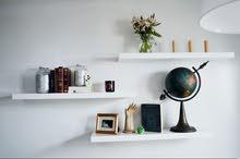 étagère décoration des chambres