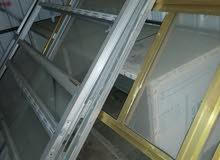 جامخانه محل ألمنيوم وحده ذهبي وحده سلفر+باب المنيوم +ميز المنيوم قياس 415(cm)