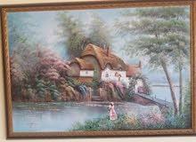 للبيع عدد 2 لوحة زيتية أصلية لفنانين إنجليز