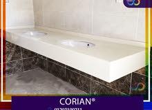 وحدات حمامات رخام صناعي من ارت فيجن 01203100211