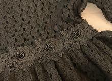 فستان منفوش اسود