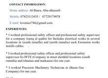 HSE Construction...supervisor
