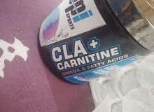مكمل غذائي cla + carnitine