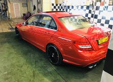 Red Mercedes Benz C 300 2014 for sale