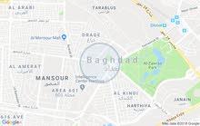 Yarmouk neighborhood Baghdad city -  sqm house for rent