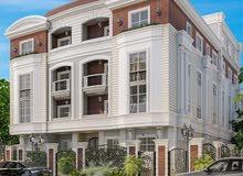 شقة متكرر بحديقة 243م + حديقة 35م في الحي الخامس بيت الوطن التجمع الخامس