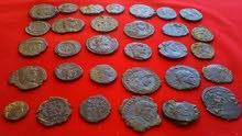 عملات رومانية برونزية قديمة