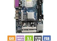 G 41 motherboard + core 2 quad 6600 CPU