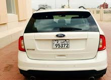 White Ford Edge 2012 for sale