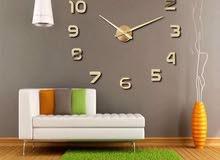 ساعات حائط ديكور 3D