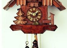 مطلوب ساعة جدارية تكويك ام العصفور