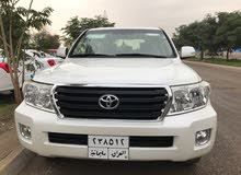 White Toyota Land Cruiser 2014 for sale