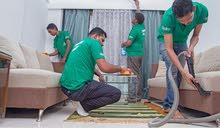 تنظيف المنازل والشركات وتوفير عقود