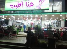 مطعم للبيع بكامل تجهيزاته في اربد-مقابل سامح مول.