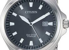 ساعة فخمة مصنوعه من التيتانيوم من ماركة Citizen أصلية
