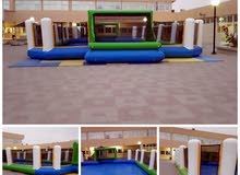 ملعب صابوني للبيع حجم 20 متر طول و 10 متر عرض