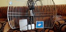 تلات اجهزة واي ماكس اتنين ماي فاي وواحد برج