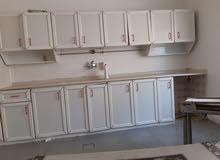 خزان مطبخ المنيوم بحاله ممتازه مساحتها 4 متر