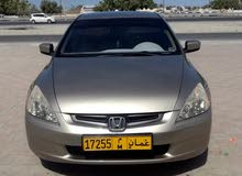 Gold Honda Accord 2003 for sale