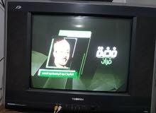 تليفزيون توشيبا 21 بوصة إستعمال نظيف