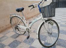 دراجة هوائية (بسكليت) ياباني جنط 30 بحالة جيدة جداً للبيع