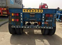 20 ft trailer with new tires for sale and a bogey also for sale