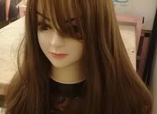 شعر طبيعي مستعار للبيع perruque