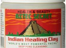 أزتيك سيكرت, قناع طين الشفاء الهندي لتطهير المسامات Aztec Secret