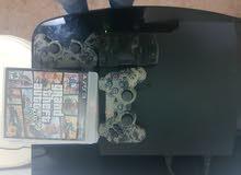 بلايستيشن 3 نوع سلم بحالة ممتازة  PlayStation 3 slim
