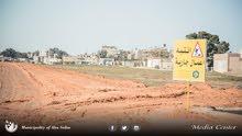 قطعة أرض مساحتها 500 متر ، تقع في صلاح الدين شارع هادئ جداً