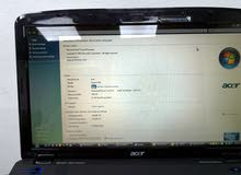 Acer Aspire 5738Z - Working Condition with minute damage on keyboard for sale