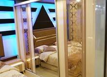 غرفة نوم لعشاق الرومنسيه مع مرتبه هدية
