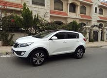 White Kia Sportage 2011 for sale