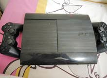play station 3 with 2 wireless consoles and 2 gaming cds