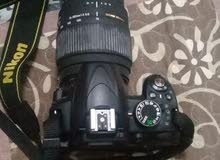 للبيع كاميراء نيكون D3100نظيفة جداً
